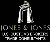 Jones & Jones U.S. Customs Brokers, Logo